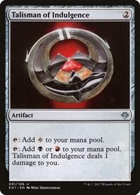 Talisman of Indulgence, Magic: The Gathering, Archenemy: Nicol Bolas