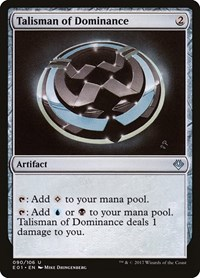 Talisman of Dominance, Magic: The Gathering, Archenemy: Nicol Bolas