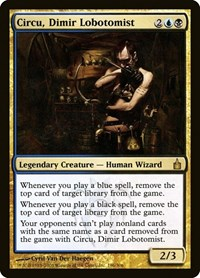 Circu, Dimir Lobotomist, Magic: The Gathering, Ravnica: City of Guilds