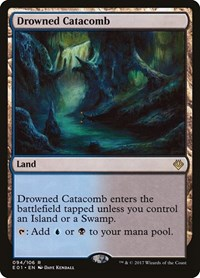 Drowned Catacomb, Magic: The Gathering, Archenemy: Nicol Bolas