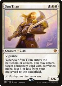 Sun Titan, Magic: The Gathering, Archenemy: Nicol Bolas