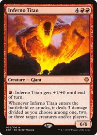 Inferno Titan, Magic, Archenemy: Nicol Bolas