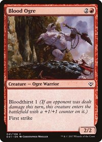 Blood Ogre, Magic, Archenemy: Nicol Bolas