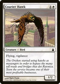 Courier Hawk, Magic: The Gathering, Ravnica: City of Guilds