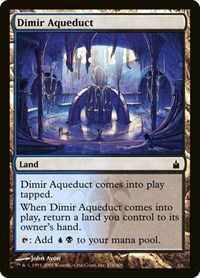 Dimir Aqueduct, Magic: The Gathering, Ravnica: City of Guilds