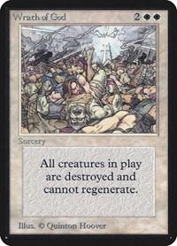 Wrath of God, Magic: The Gathering, Alpha Edition