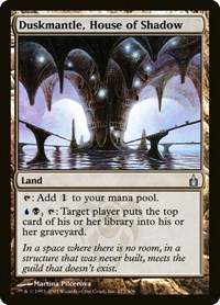 Duskmantle, House of Shadow, Magic, Ravnica: City of Guilds