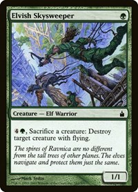 Elvish Skysweeper, Magic: The Gathering, Ravnica: City of Guilds