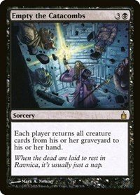 Empty the Catacombs, Magic: The Gathering, Ravnica: City of Guilds