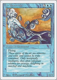 Air Elemental, Magic, Revised Edition