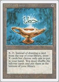 Aladdin's Lamp, Magic: The Gathering, Revised Edition