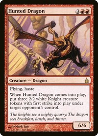 Hunted Dragon, Magic: The Gathering, Ravnica: City of Guilds