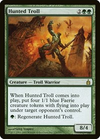 Hunted Troll, Magic: The Gathering, Ravnica: City of Guilds