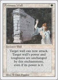Animate Wall, Magic: The Gathering, Revised Edition
