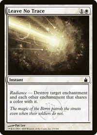 Leave No Trace, Magic: The Gathering, Ravnica: City of Guilds