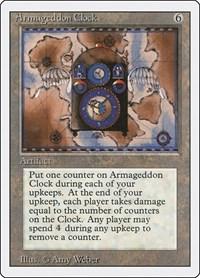 Armageddon Clock, Magic: The Gathering, Revised Edition