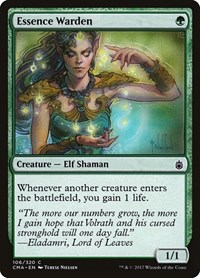 Essence Warden, Magic: The Gathering, Commander Anthology