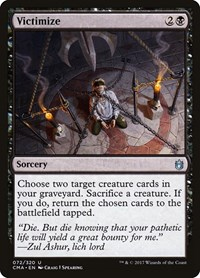 Victimize, Magic: The Gathering, Commander Anthology