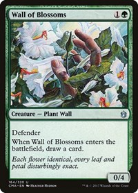 Wall of Blossoms, Magic: The Gathering, Commander Anthology