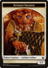 Kithkin Soldier Token (001), Magic: The Gathering, Commander Anthology
