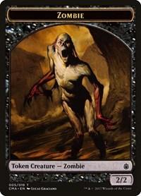Zombie Token (005), Magic, Commander Anthology