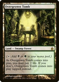 Overgrown Tomb, Magic: The Gathering, Ravnica: City of Guilds