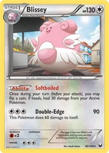 Blissey (Battle Arena Deck Exclusive), Pokemon, Deck Exclusives