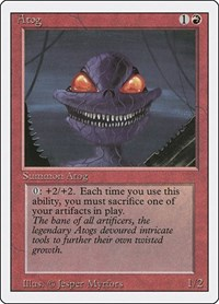 Atog, Magic: The Gathering, Revised Edition