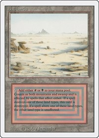 Badlands, Magic: The Gathering, Revised Edition