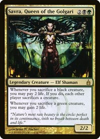 Savra, Queen of the Golgari, Magic: The Gathering, Ravnica: City of Guilds