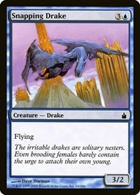 Snapping Drake, Magic: The Gathering, Ravnica: City of Guilds
