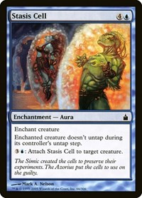 Stasis Cell, Magic: The Gathering, Ravnica: City of Guilds