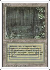 Bayou, Magic: The Gathering, Revised Edition