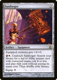 Sunforger, Magic: The Gathering, Ravnica: City of Guilds