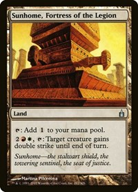 Sunhome, Fortress of the Legion, Magic: The Gathering, Ravnica: City of Guilds