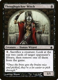 Thoughtpicker Witch, Magic, Ravnica: City of Guilds