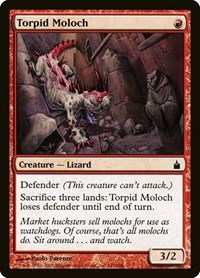 Torpid Moloch, Magic: The Gathering, Ravnica: City of Guilds