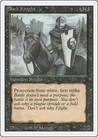 Black Knight, Magic, Revised Edition