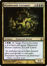 Woodwraith Corrupter, Magic: The Gathering, Ravnica: City of Guilds