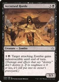 Accursed Horde, Magic: The Gathering, Hour of Devastation