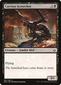 Carrion Screecher, Magic: The Gathering, Hour of Devastation
