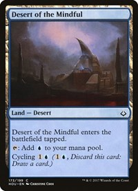 Desert of the Mindful, Magic: The Gathering, Hour of Devastation