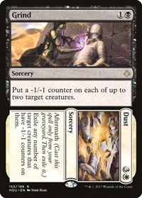 Grind // Dust, Magic: The Gathering, Hour of Devastation