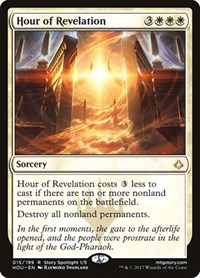 Hour of Revelation, Magic: The Gathering, Hour of Devastation