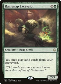 Ramunap Excavator, Magic: The Gathering, Hour of Devastation