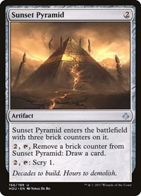 Sunset Pyramid, Magic, Hour of Devastation