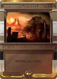 Armageddon, Magic: The Gathering, Masterpiece Series: Amonkhet Invocations