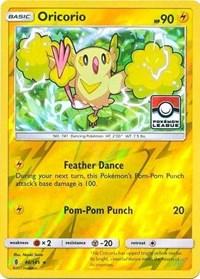 Oricorio - 46/145 (League Promo), Pokemon, League & Championship Cards