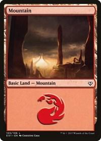 Mountain (105), Magic: The Gathering, Archenemy: Nicol Bolas