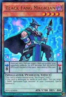 Black Fang Magician, YuGiOh, Pendulum Evolution